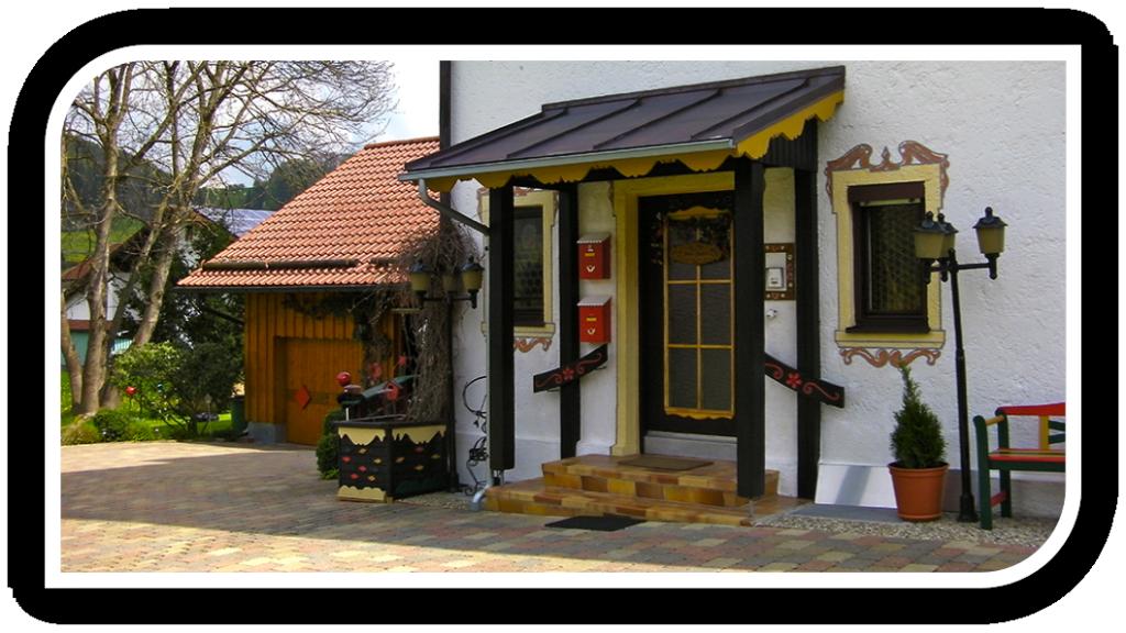 Landhaus Johanna Hauseingang